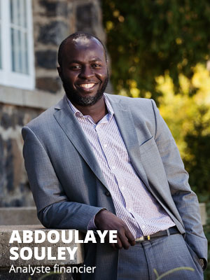 Abdoulaye Souley, Analyste financier Fonds LaPrade