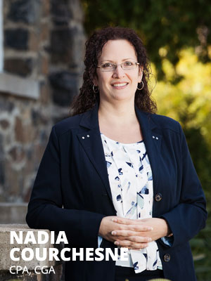 Nadia Courchesne, CPA CGA Fonds LaPrade