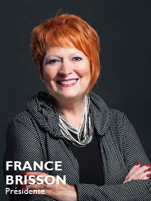 France Brisson, Présidente Fonds LaPrade